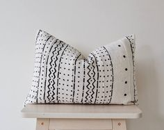African Mudcloth pillow 'Ira'