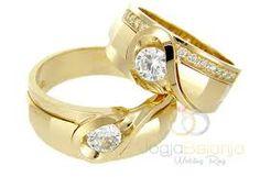 """satukan hati""""mu dengan cincin nikah"""
