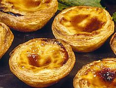 pasteis de nata | Portuguese custard tarts | had these in lisbon, portugal and they are delicious