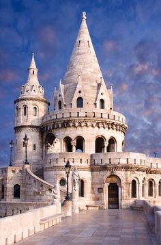 Fisherman's Bastion on Castle Hill in Buda...closest we'll get to a real-life Gondolin!