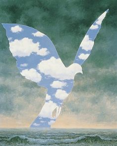 """René Magritte ~ """"The Large Family"""", 1963"""