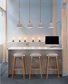 Maison et Objet in Paris Spring 2015 I Normann Copenhagen Bar Furniture, Kitchen Furniture, Kitchen Interior, Luxury Furniture, Furniture Design, Suspension Bar, Norman Copenhagen, Copenhagen Design, Milan Design