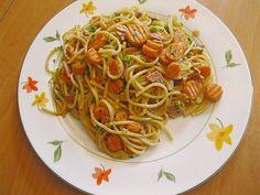Überbackene Gemüse - Spaghetti 1
