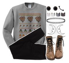 """""""Happy thanksgiving :)"""" by alex-bows ❤ liked on Polyvore featuring American Eagle Outfitters, Adele Marie and Luv Aj"""