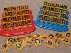 guess who game- maybe try and figure out how to use this in a center for math or lang. arts