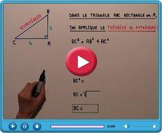 Pythagore : Appliquer le théorème de Pythagore (Problème de maths en vidéo n°1, 4ème)