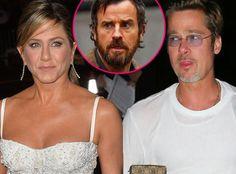 Brad Pitt & Jennifer Aniston Hotel Meeting