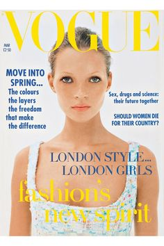 KATE MOSS  VOGUE UK ⑨⓪'S  corinne day