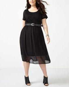 Cap Sleeve Dress wit