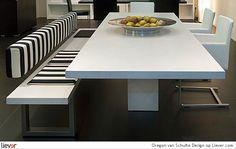 Oregon - Schulte Design - stoelen - eetkamerstoelen - tafels - eettafels - bankjes - eetbanken