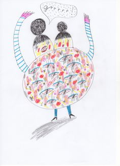 Entry by Lizzie Donegan http://www.anorakmagazine.com/blog/crazy-monsters-drawing-competition.html