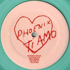 Phoenix - Ti Amo | Releases, Reviews, Credits | Discogs Phoenix Band, I'm Still Here, My Vibe, Pink Walls, Cata, Music Albums, Wall Collage, Boy Bands, Dorm