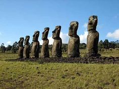 Go to Easter Island.