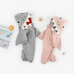 Stylish and fashion design-make your baby more attractive with shark hood. Great for casual, Daily, party or photoshoot, also a great idea for a baby show gifts. It is made of high quality materials-90% cotton,#Soft hand feeling, no any harm to your baby's skin. Please allow slight 1-2cm difference due to manual measurement and a little #color variation for different display setting. Unique Design-This #cozy 1-piece outfit,makes it perfect for the #colder months. Boy Or Girl, Baby Boy, Hip Hop Fashion, Baby Winter, Baby Skin, Soft Hands, Baby Bodysuit, 1 Piece, Shark