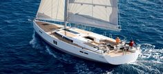 Hanse 545, 3+1 Cabins, 6+1 Berths. Available for Charter in Croatia.