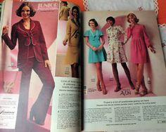 4-VINTAGE-Mail-Order-Catalogues-1970s-80s-like-Freemans-MADMEN-style-FASHION