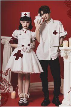 Harajuku Fashion, Kawaii Fashion, Lolita Fashion, Nursing Clothes, Nursing Dress, Cosplay, Cool Outfits, Fashion Outfits, Kawaii Clothes