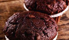 Brownies muffiny s mandľami