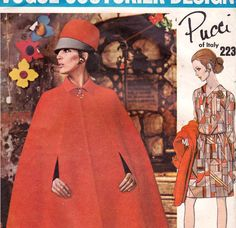 1960s Vogue Couturier Design Pattern 2231 by allthepreciousthings, $85.00 #60s #retro #vintage