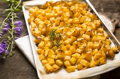 Rosemary and Shallot Butternut Squash (Paleo/AIP/Whole30)