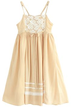 Lovely Lace Pleated Mini Suspender Dress - OASAP.com