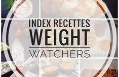 Index recettes Weight Watchers