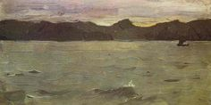 Valentin Serov, The White Sea, 1894 (www.cavetocanvas.com)