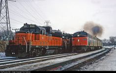 RailPictures.Net Photo: MILW 955 Milwaukee Road EMD GP20 at Portage, Wisconsin by Tom Farence