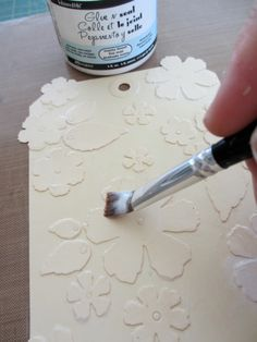"OMG, this is my next project, absolutely love it.  One Lucky Day: ""Genuine"" Fun ( gesso stain distress markers)"