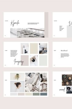 Create beautiful brand guidelines in minutes with the KYMILA presentation template. Modern and minimal, take your branding to the next level with this easy-to-use template. Indesign Presentation, Brand Presentation, Interior Design Presentation, Presentation Layout, Presentation Templates, Coperate Design, Visual Design, Design Jobs, Layout Design