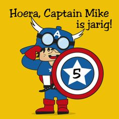 superheld verjaardag kaart - Verjaardagskaarten - Kaartje2go Captain America, Superhero, Illustrations, Fictional Characters, Products, Superheroes, Illustration, Fantasy Characters, Gadget