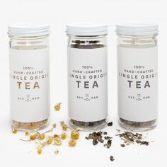Estate-grown loose leaf tea, steeped in both flavor and tradition. Striving to be socially and environmentally sustainable, Bee Raw employs local manual labor and uses post consumer and glass packaging. Proceeds support family apiaries and their time-honored techniques. Especially delicious with Bee Raw honey.