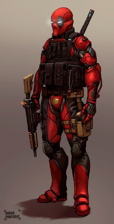 Deadpool 2030 by FonteArt on deviantART