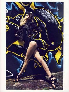 Couture Graffitography - Graffi-Couture in Vogue Paris Combines Urban Art With High Fashion (GALLERY)