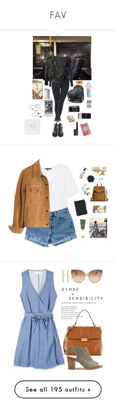 """FAV"" by yourelive ❤ liked on Polyvore featuring James Perse, ASOS, R13, Dr. Martens, John Lewis, AIAIAI, NARS Cosmetics, Speck, rag & bone and Levi's"