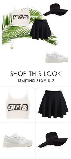 """""""#"""" by deniseromero0 on Polyvore featuring Alexander Wang, WithChic, San Diego Hat Co. and Michael Kors"""