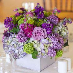 arreglos florales bodas de dia morado - Buscar con Google