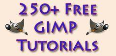 250+ Free GIMP (GNU) Tutorials