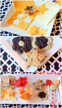 Shaped Party Foods!