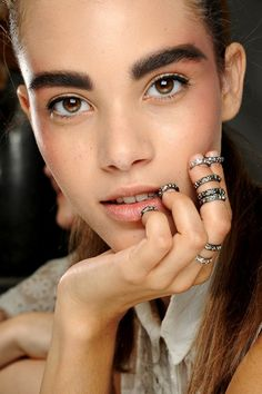 Couture Beauty: Chanel f/w 2013