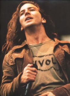 Young Eddie Vedder of Pearl Jam.. One of the only concerts I've ever seen in Las Vegas