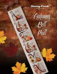 Autumn Bell Pull - Cross Stitch Leaflet