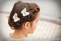 Tutorial: No-sew fabric bobby pin hair accessories