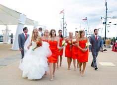 Charmed Bayside Wedding | Marirosa - Annapolis Wedding Blog for the Maryland Bride