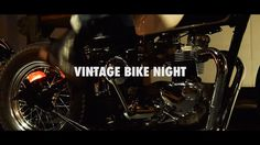 OSYB Vintage Bike Night on Vimeo