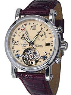 Aeromatic 1912 A1422 - Reloj  color marrón-PREFERIDO-