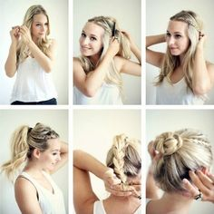 15 Braided Updo Hairstyles Tutorials – Pretty Designs cool updos ...