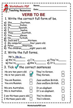 Write the full forms. (am is are) # learn english grammar lesson plans English Grammar For Kids, Learning English For Kids, Teaching English Grammar, English Worksheets For Kids, English Writing Skills, Grammar And Vocabulary, Grammar Lessons, English Vocabulary Words, English Language Learning