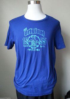 An Original Penguin men size M blue graphic #cotton t-shirt NWT visit our ebay store at  http://stores.ebay.com/esquirestore