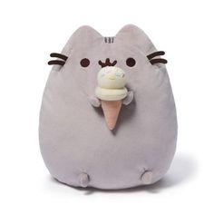 """Pusheen Ice Cream Snackable 9.5"""""""
